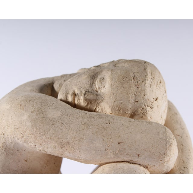 French Henri Albert Lagriffoul Signed Clay Sculpture of a Nude Woman For Sale - Image 3 of 13