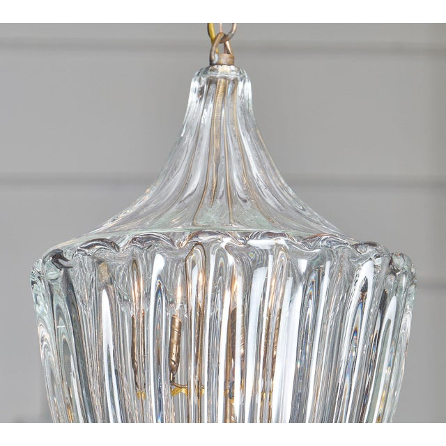 Barovier & Toso 1950s Murano Glass Lantern by Barovier For Sale - Image 4 of 10