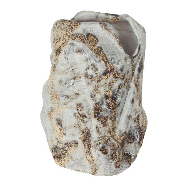 Marcello Fantoni Brutalist Ceramic Vase - Image 1 of 10