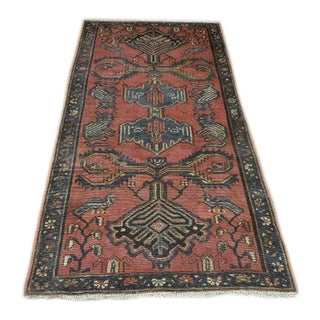 "Vintage Persian Malayer Rug - 3' x 5'5"" For Sale"