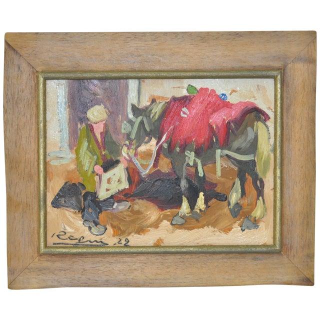 Impressionist Italian Oil Painting C.1922 - Image 1 of 5