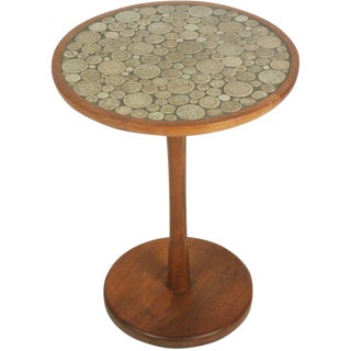 Gordon Martz Ceramic Tile Top Occasional Table For Sale