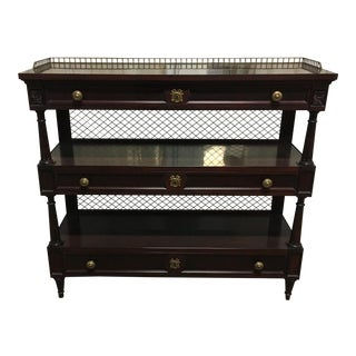 20th Century Louis XVI Karges Server Console For Sale