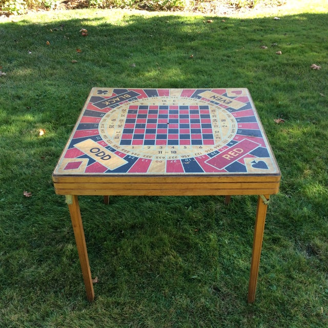 Get your game on with this awesome five in one game table... the 'Monte Carlo' table from Ken Wood products. I spotted...