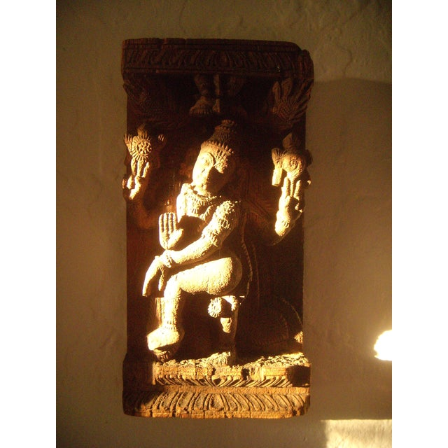 Antique Indian Goddess Wall Hanging - Image 9 of 10