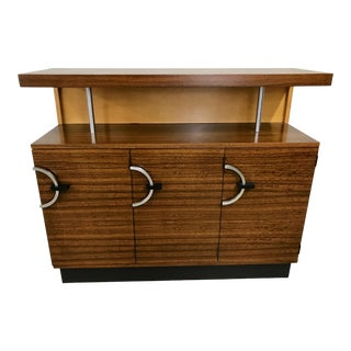 Gilbert Rohde for Herman Miller East India Laurel Utility Chest and Rest-On Shelf For Sale