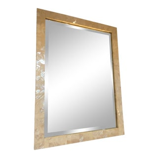 Jamie Young Mother of Pearl Mirror Showroom Sample For Sale
