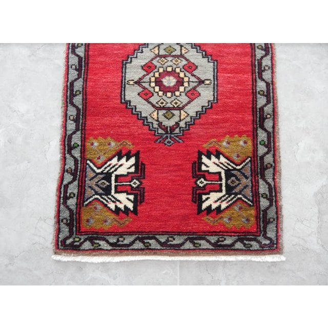 Small Turkish Accent Rug For Sale In Dallas - Image 6 of 8