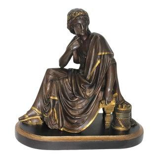 Antique Albert-Ernest Carrier-Belleuse Style Bronze Sculpture For Sale