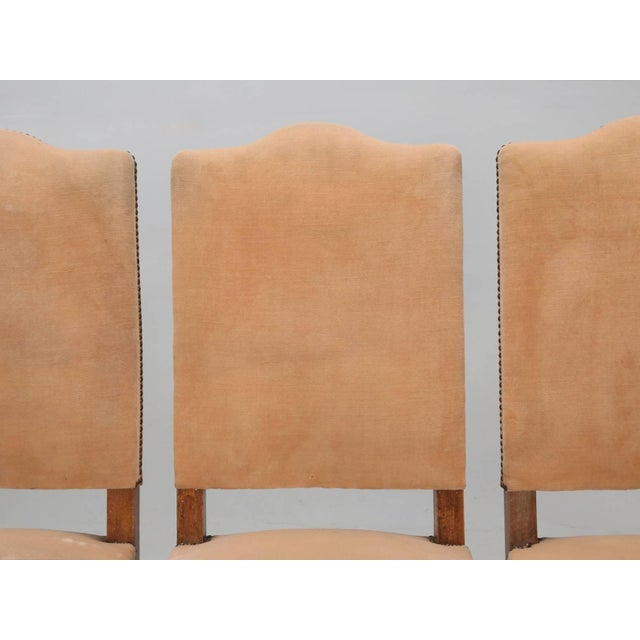 Antique French Dining Side Chairs - Set of 6 For Sale - Image 10 of 12