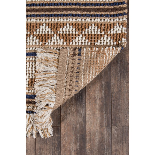 """2010s Esme Ivory Hand Woven Area Rug 2'3"""" X 7'6"""" Runner For Sale - Image 5 of 7"""