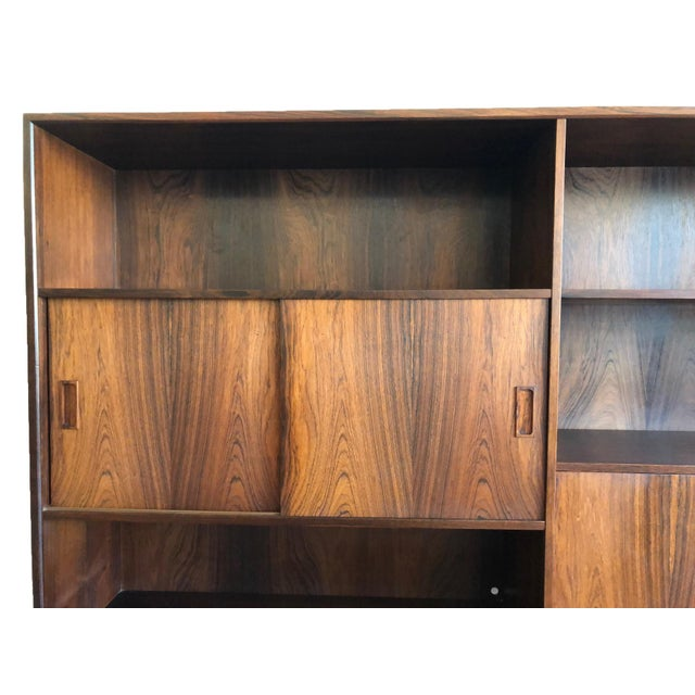 Danish Mid-Century Rosewood Display Unit For Sale - Image 4 of 9