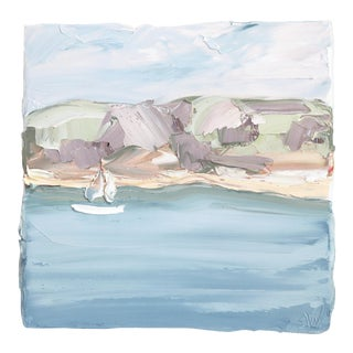 """""""Pittwater, Lucinda Park 2 (25.11.19)"""" Original Artwork by Sally West For Sale"""