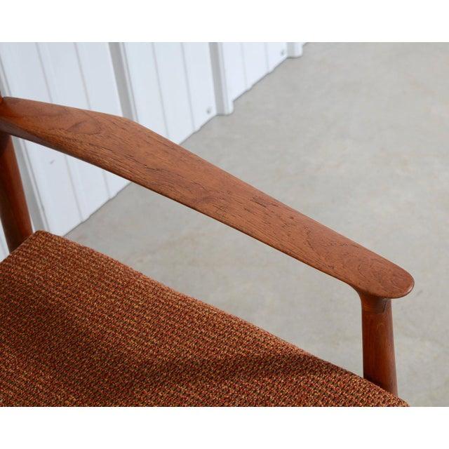 Teak Lounge Chair By Grete Jalk Danish Modern Glostrup Møbelfabrik