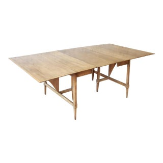Heywood-Wakefield Mid-Century Modern Extension Dining Table