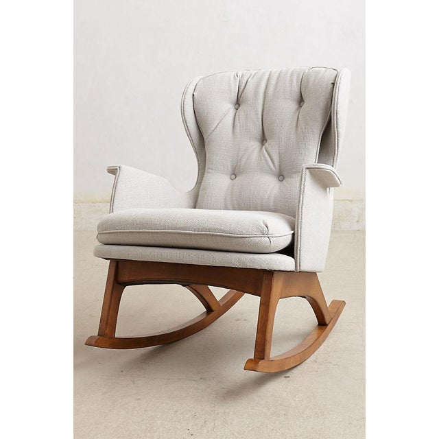 Anthropologie Finn Rocking Chair For Sale In New York - Image 6 of 7