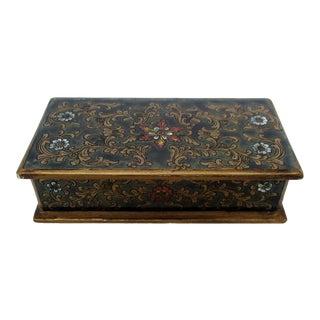 Decorative Wood Box For Sale