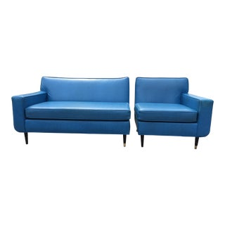 Mid-Century Modern Sectional Couch