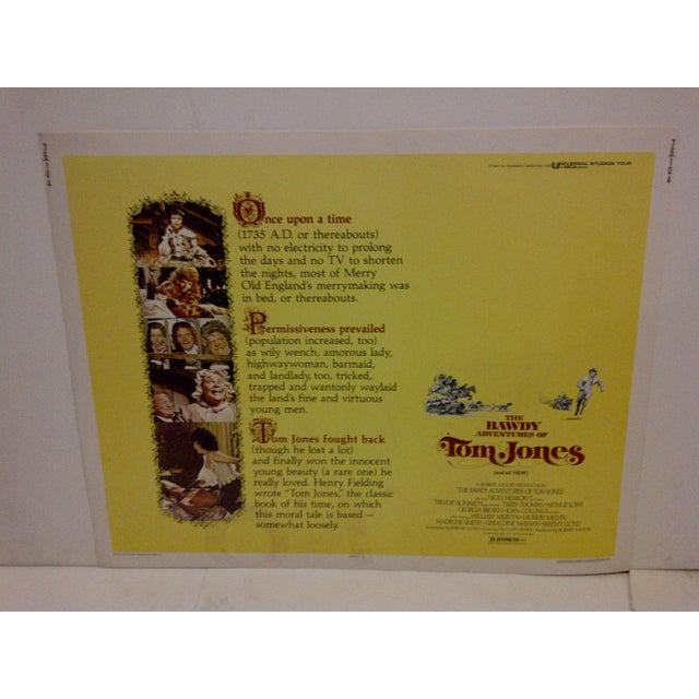 "A Vintage Movie Poster for ""The Bawdy Adventures Of Tom Jones"" starring Nick Henson. 76/104. Copyright 1976. Universal..."