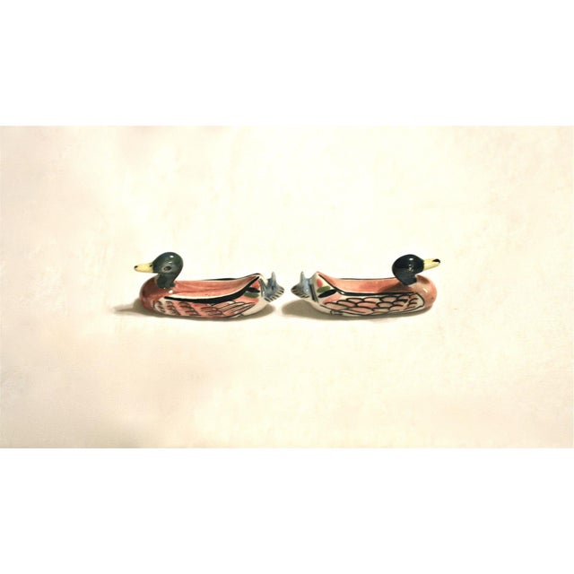 Porcelain Duck Knife Rests - A Pair For Sale - Image 4 of 8
