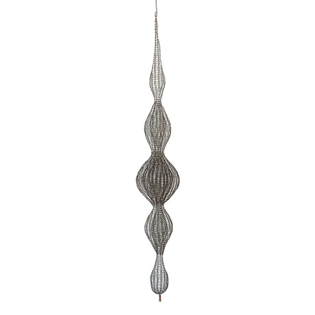 d'Lisa Creager Woven Wire Hanging Sculpture For Sale - Image 11 of 11