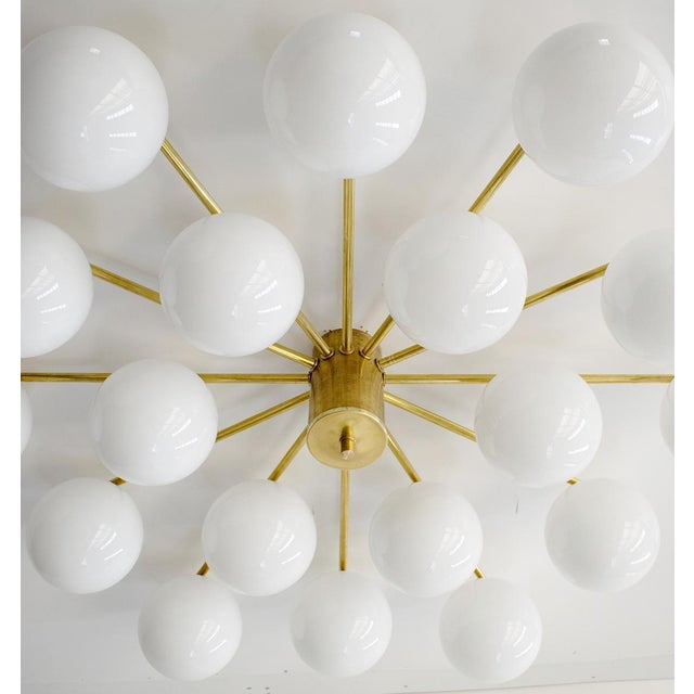 Metal Globes Flush Mount by Fabio Ltd For Sale - Image 7 of 12
