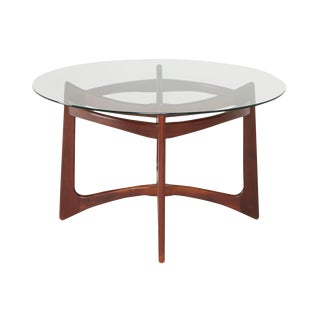 1960s Walnut Dining Table by Adrian Pearsall for Craft Associates For Sale