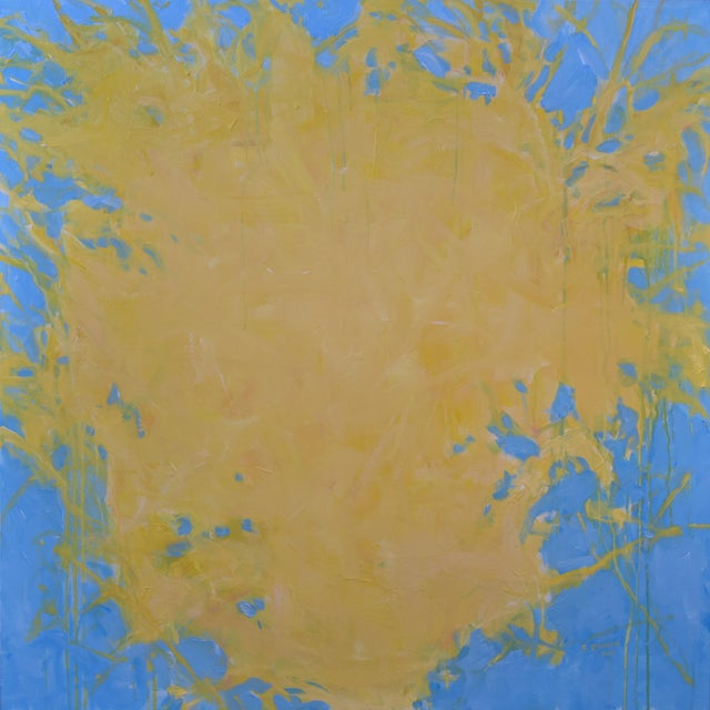 """Forsythia"" Abstract Painting - Image 1 of 9"