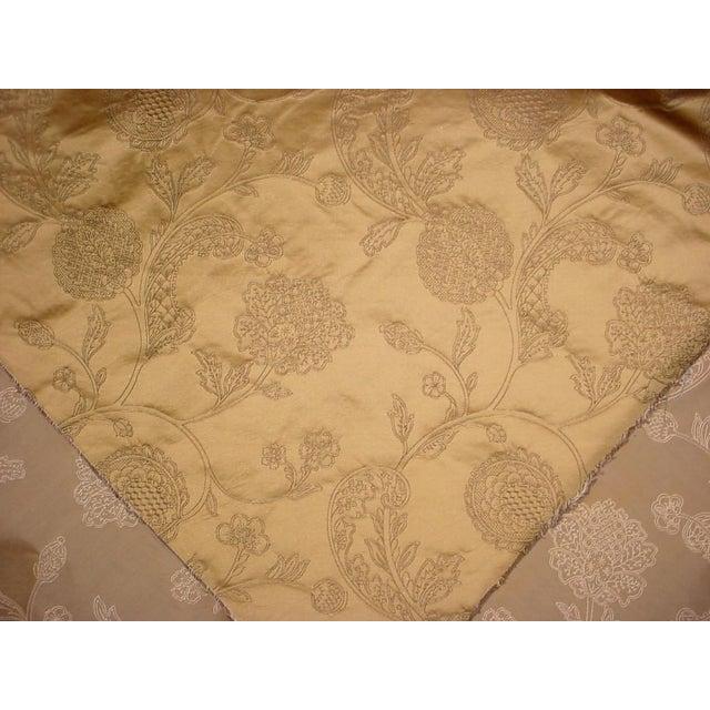 Kravet 17-3/4 Kravet Couture 30723 Gold Gothic Jacobean Silk Damask Upholstery Fabric For Sale - Image 4 of 5