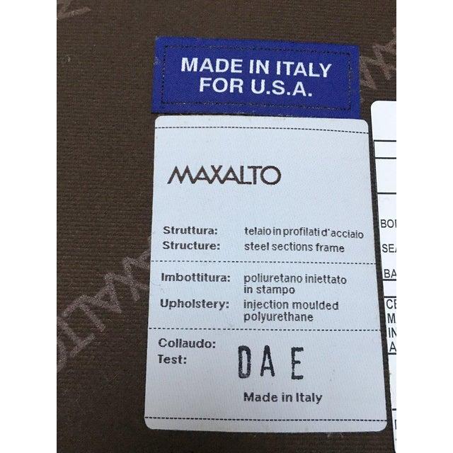 B & B Italia Italian Modern Leather Bench For Sale - Image 10 of 10