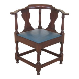 Kittinger Colonial Williamsburg Cw-136 Corner Chair For Sale