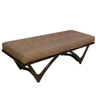Sculptural Bench in the Manner of Gio Ponti