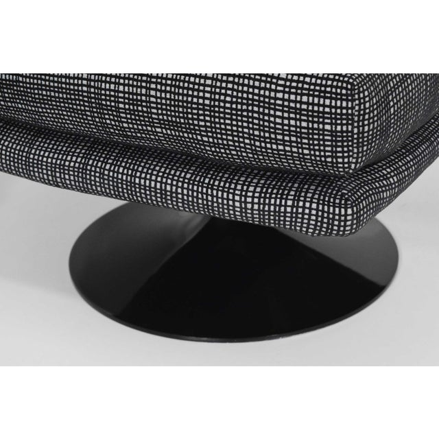 Adrian Pearsall for Craft Associates Swivel Chairs For Sale - Image 9 of 10