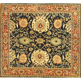 Pasargad Hand-Knotted Serapi Rug - 4' X 4' For Sale