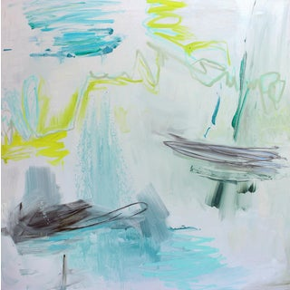 """On the High Seas"" by Trixie Pitts Large Abstract Oil Painting For Sale"