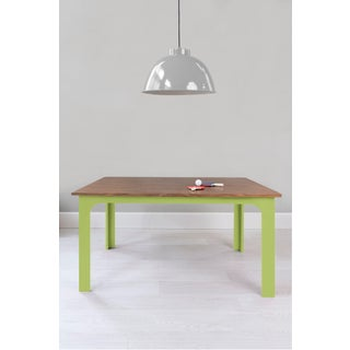 "Craft Kids 42"" Table in Walnut With Green Finish Preview"