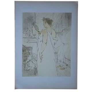 """Lautrec Lithograph """"Elles Women"""" Lithograph For Sale"""