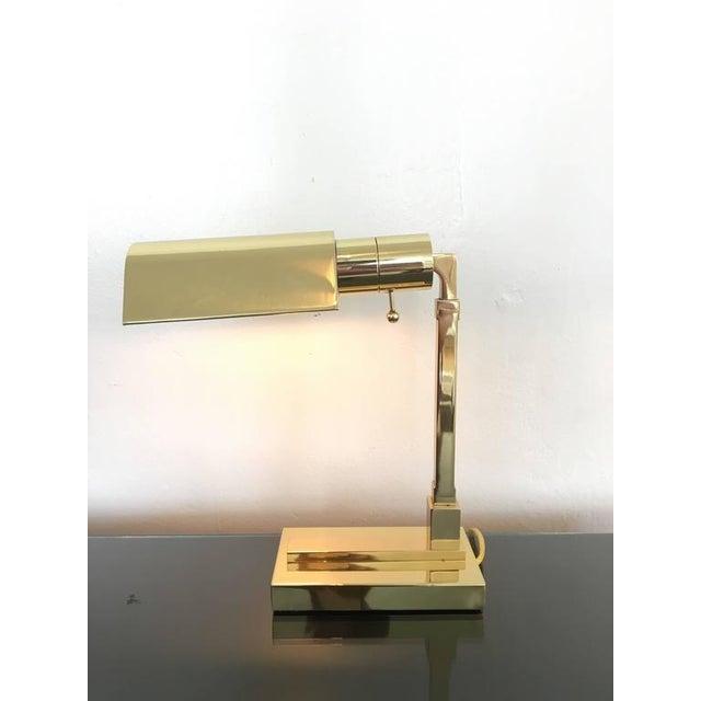 Distinguished polished brass desk lamp by casella decaso polished brass desk lamp by casella image 2 of 8 aloadofball Images