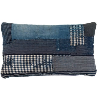 Antique Japanese Boro Textile Pillow For Sale