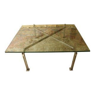 Pace Mid-Century Modern Glass Coffee Table