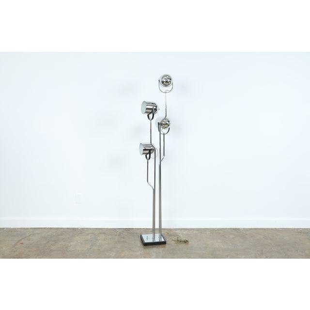 Reggiani Four Arm Chrome Floor Lamp - Image 4 of 7