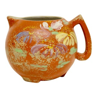 Ransburg Pottery Stoneware Pitcher, Circa 1930s For Sale