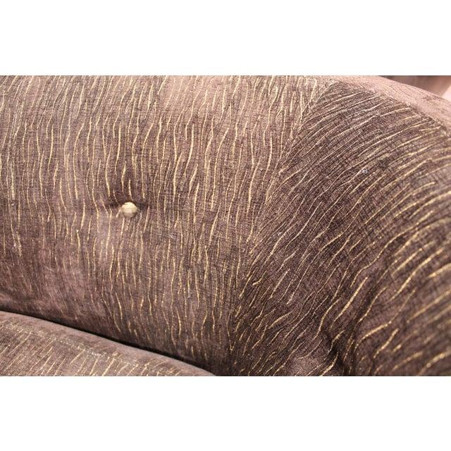 Auburn Vintage Irwin Lambeth Asymmetrical Cloud Sofa For Sale - Image 8 of 13