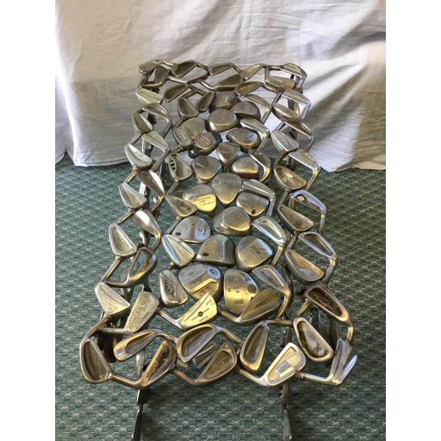 Hand crafted by Jeff Diamond. This is not just a piece of Art, it is a functional bench. You could even fit it with a...