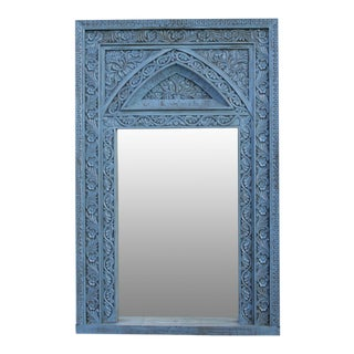 Grand Moorish Carved Mirror