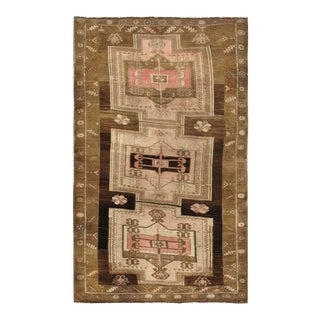 Vintage Turkish Kars Rug 5'10 X 9'4 For Sale