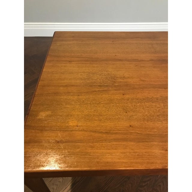 Danish Modern Dining Table with Two Leaves - Image 7 of 11