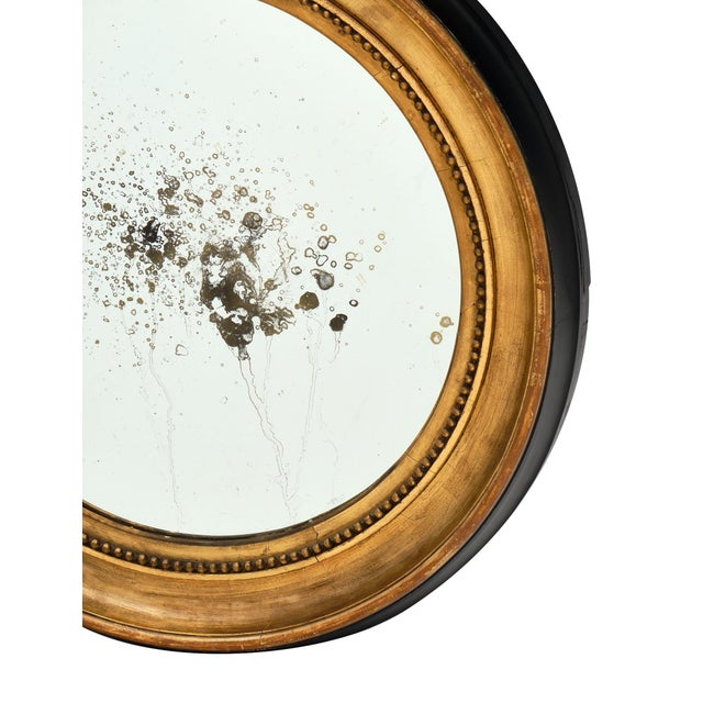 Louis XVI Period French Round Mirror For Sale In Austin - Image 6 of 10