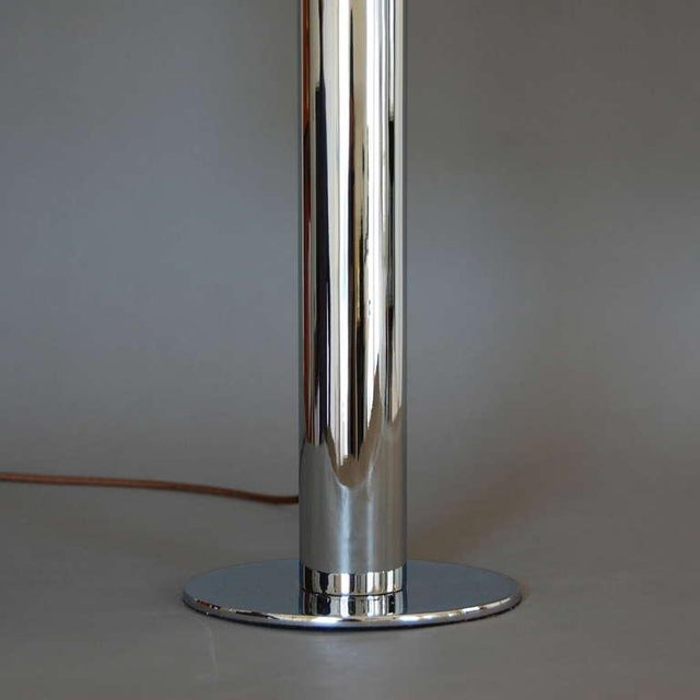 Aluminum Pair of American Table Lamps For Sale - Image 7 of 7