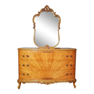 20th Century Antique French Louis XV Style Dresser/Commode For Sale